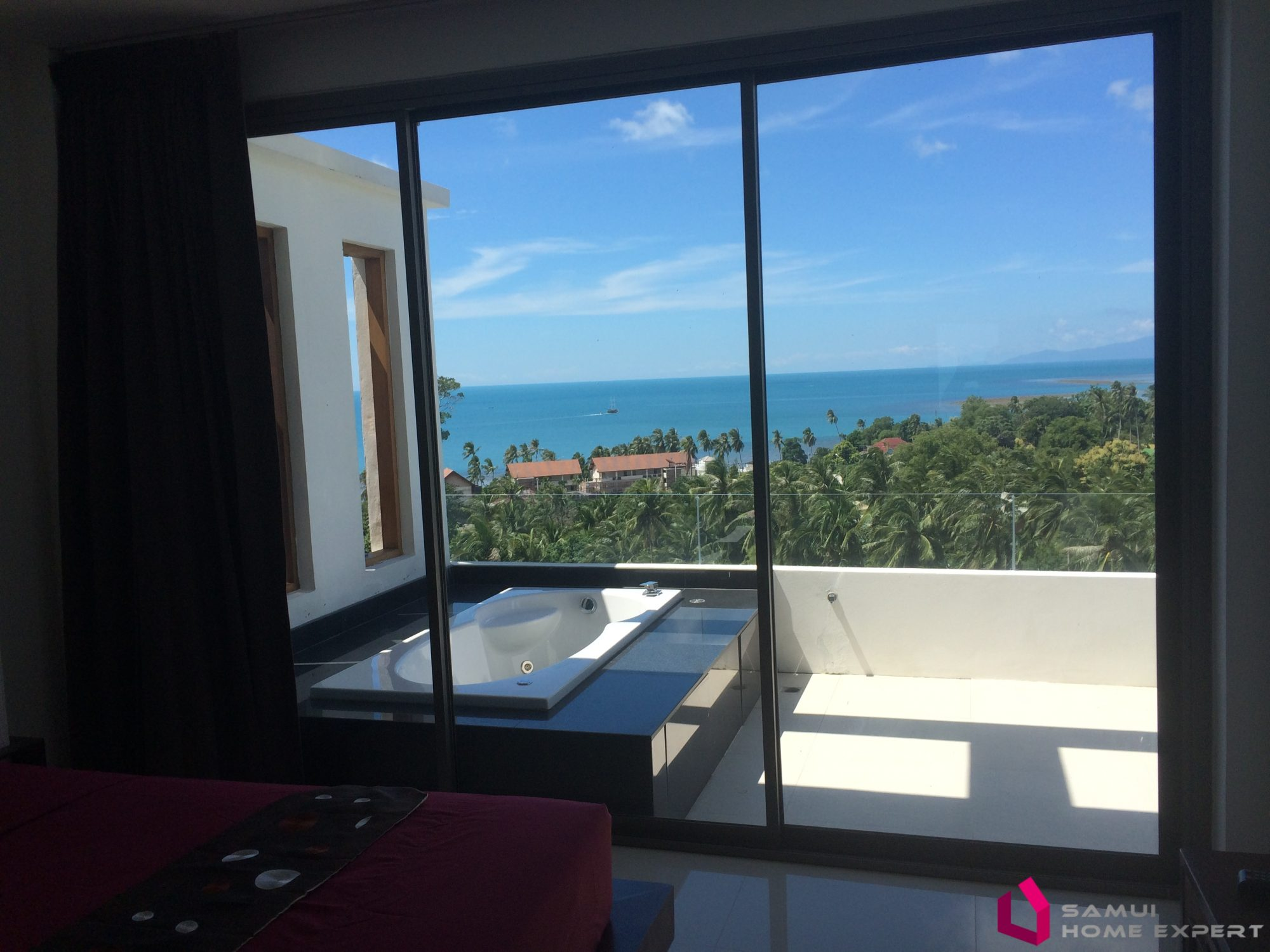 Apartment with sea view and jacuzzi | Samui Home Expert